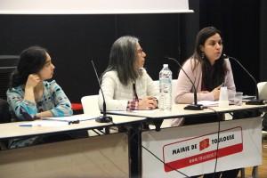 Halima, Nafissa des Ami-e-s d'Averroès et Hasna Hussein
