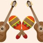 fiesta-mexicaine-guitare-maracas_24877-26216